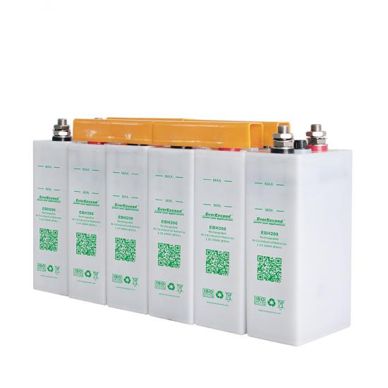 High discharge rate NiCd battery