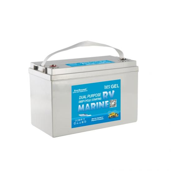 Bateria marinha do gel 12v